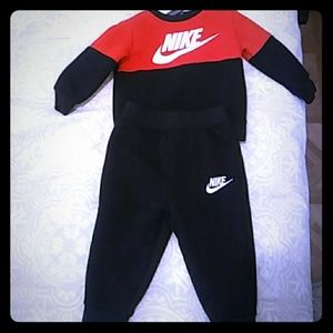 12 month's size Nike sweat set